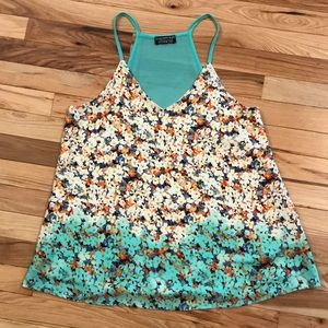 EUC Papermoon for Stitch Fix Floral Tank
